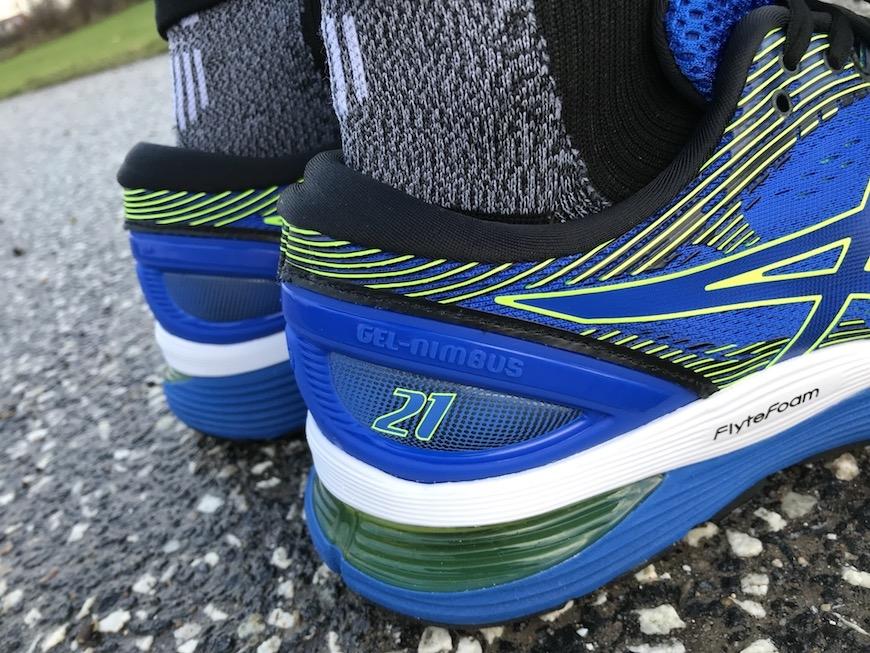 ASICS GEL Nimbus 21 Running Shoe (2E Wide Fit) AW19