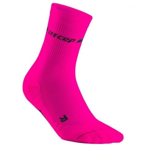 CEP neon mid-cut socks
