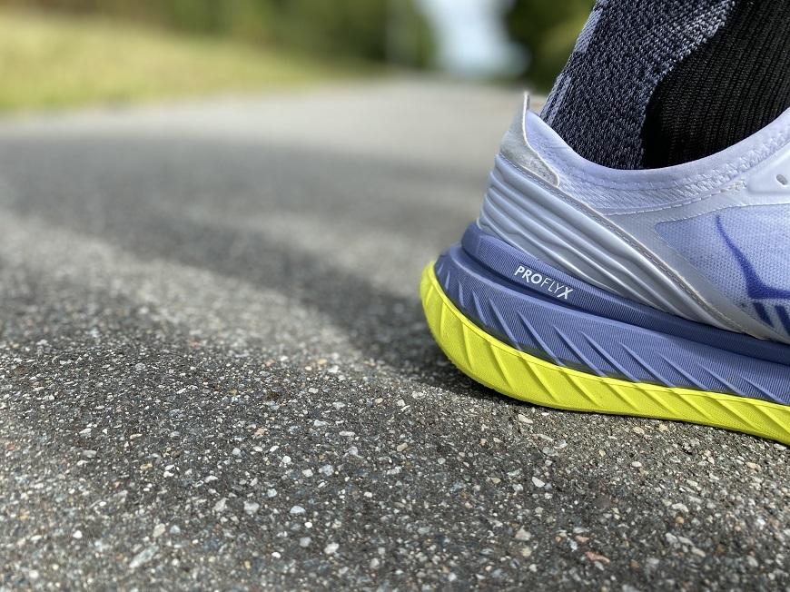 Hoka One One Carbon X-SPE heel