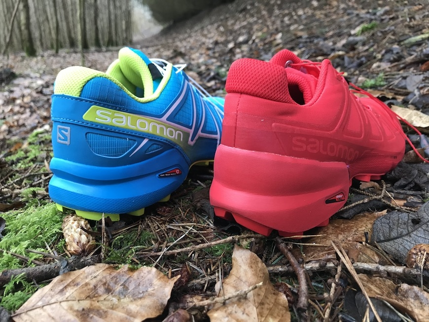 salomon speedcross 5 vs. speedcross 4