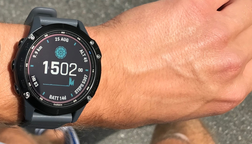 Garmin Fenix 6 Pro Solar Watch Face