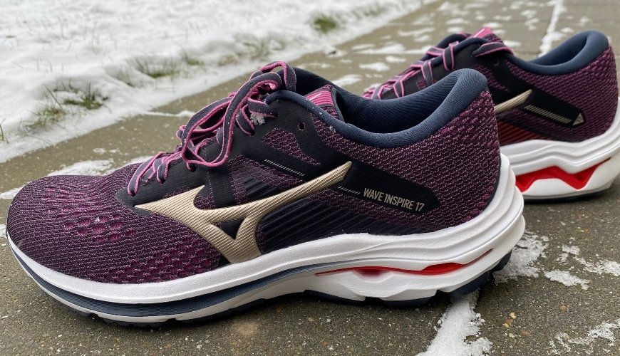 Mizuno Wave Inspire 17 test